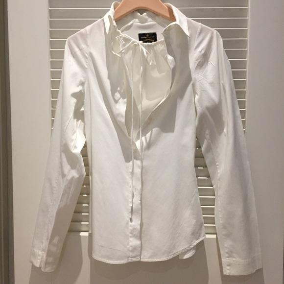 VIVIENNE WESTWOOD ANGLOMANIA White Shirt 44 EUC